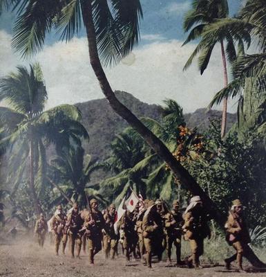 Японцы на Гуадалканале. Август 1942 г.