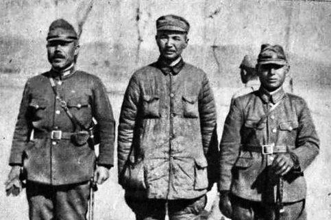 Китайский генерал в японском плену. Западный Хубэй, июнь 1943 г.