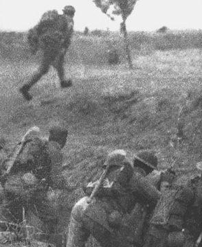 Китайские солдаты на подступах к Шанхаю. Сентябрь 1937 г.
