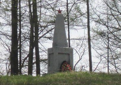 п. Лесной Демидовского р-на. Братское захоронение советских воинов.