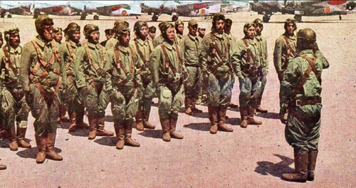 Пилоты-истребители Японии. 1943 г.