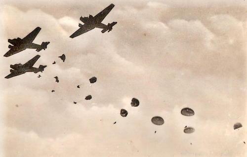 Выброска десанта на Крит. Май 1941 г.