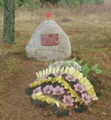 д. Семеновка Демидовского р-на. Братская могила 89 советских граждан, казненных гитлеровцами в июле 1943 года.