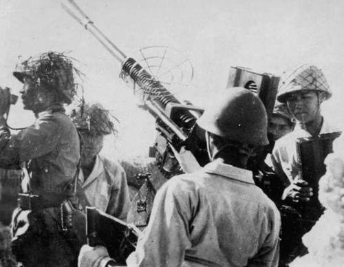 Таравский гарнизон во время учений. 1943 г.