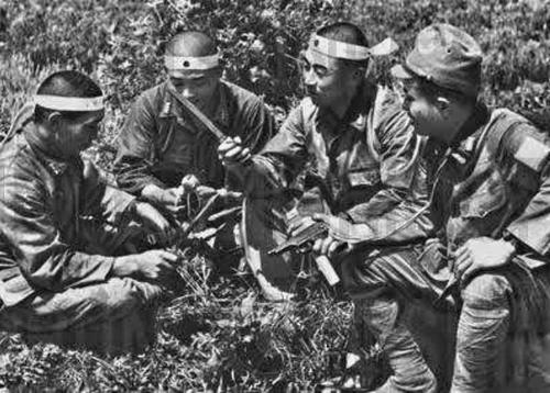 Солдаты спецназа Гирецу. Ноябрь 1944 г.