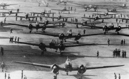 Военно-морской Ацугский аэродром. 1944 г.