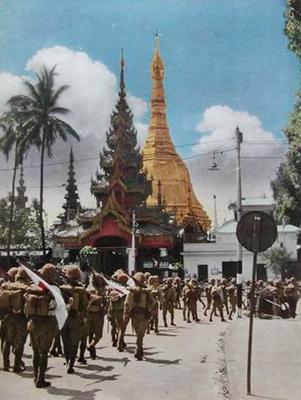 Японские солдаты на Бирме. 1942 г.