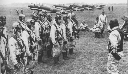 Истребители в Бирме. Декабрь 1942 г.