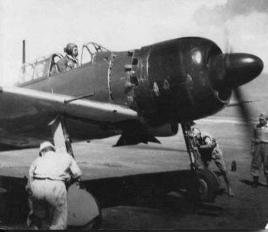 Аэродром на острове Иводзима. 1944 г.