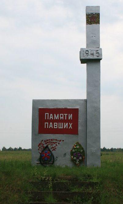 д. Михайловка Дорогобужского р-на. Место казни гитлеровцами 300 советских граждан в 1942 году.