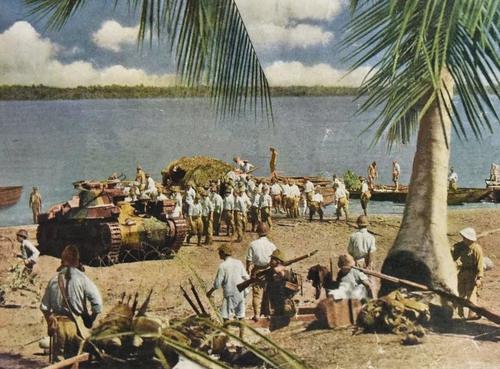 Вторжения японцев в Сингапур. 1942 г.