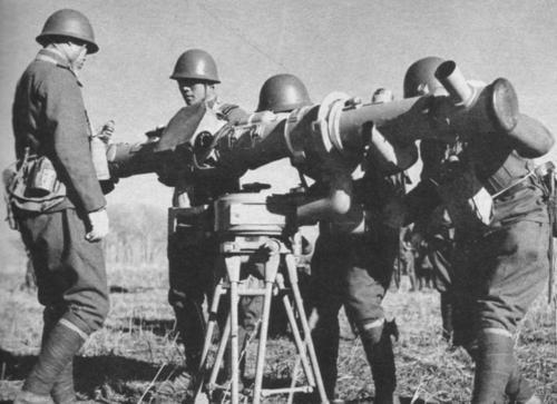 Дальномер японской армии. Маньчжурия, 1945 г.