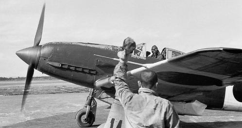 Истребитель HI KI-61. Япония, август 1945 г.