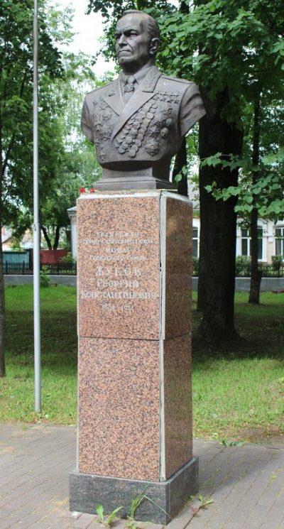 Бюст Маршала Советского Союза Жукова Г.К.
