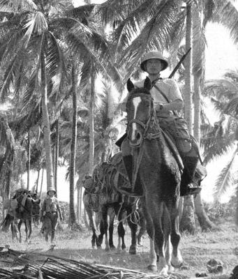 Кавалерия на Филиппинах. 1942 г.