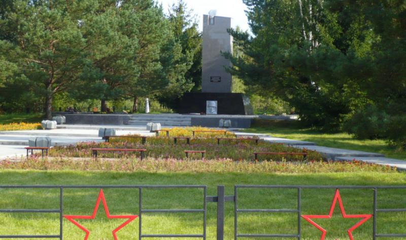 д. Каменец Ельнинского р-на. Памятник погибшим в годы войны.