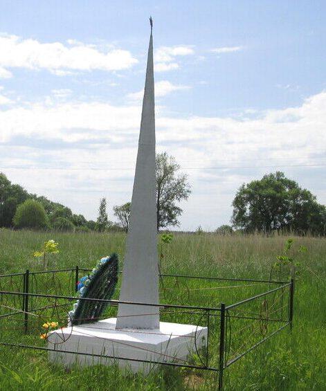 д. Стайки Ельнинского р-на. Памятное место, где происходили ожесточенные бои 6-й гвардейской стрелковой дивизии.