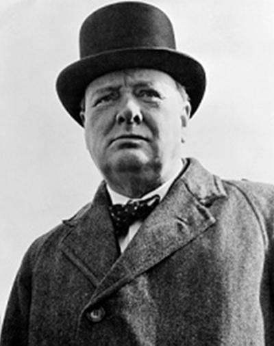 Уинстон Черчилль.