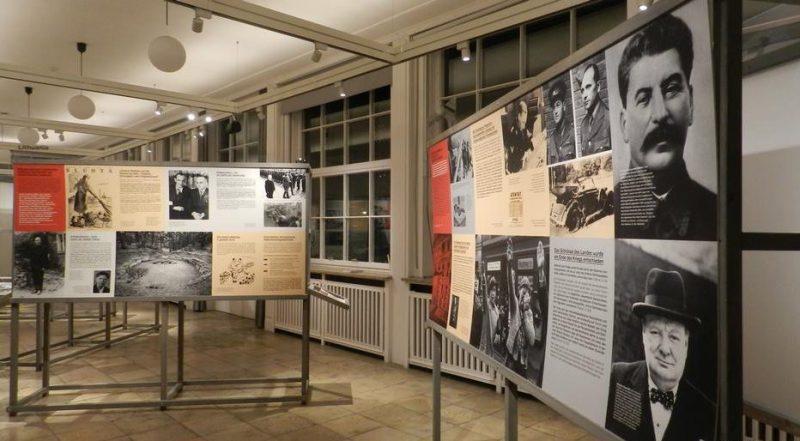 Выставка «Разные войны» в музее «Берлин-Карлсхорст».