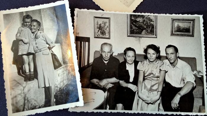 Литовская семья немецкой сироты Луизе Куитш.