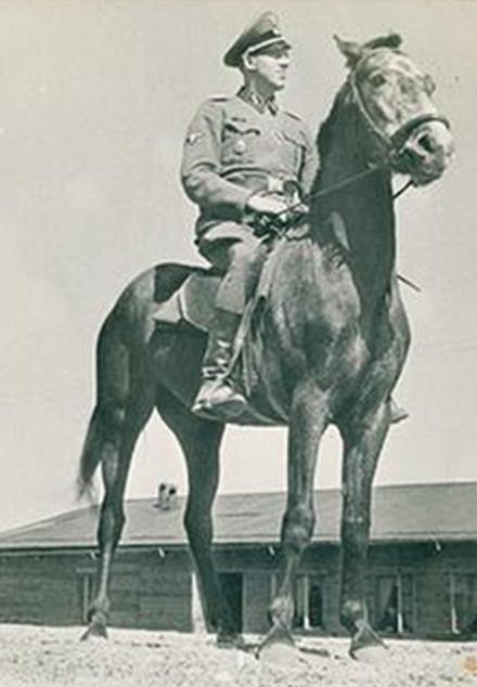Заместитель коменданта лагеря смерти «Собибор» Йоханнес Ниман.