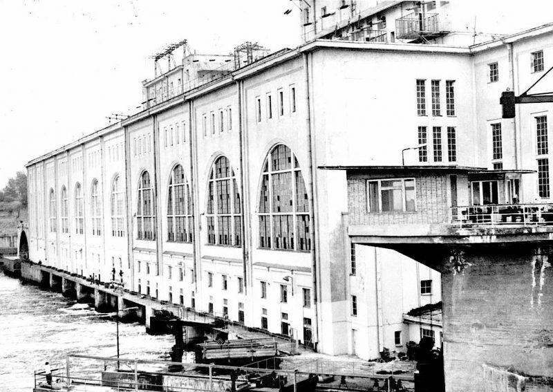 Волховская ГЭС до войны. 1940 г.