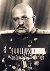 Второй командующий 2-й Белорусский фронтом Петров И.Е.