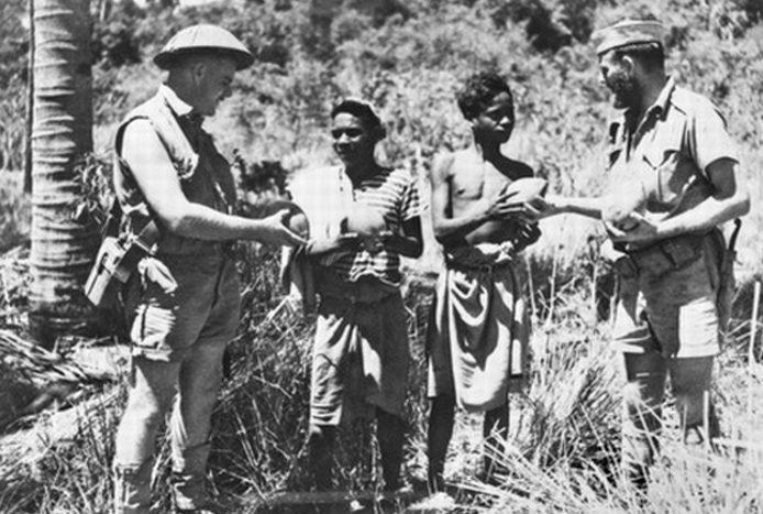Австралийские партизаны на Тиморе.