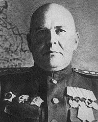 Генерал армии Захаров Г.Ф.