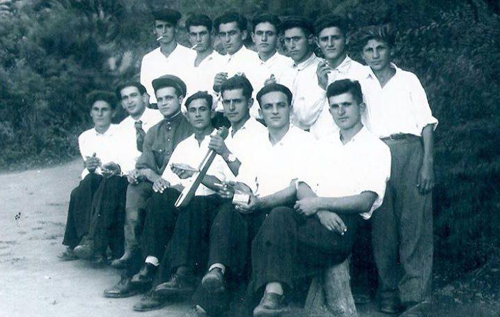 Греки Кубани в 1948 году перед депортацией.