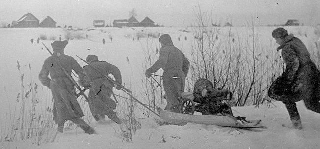 Выход советских войск к р.Нарва.