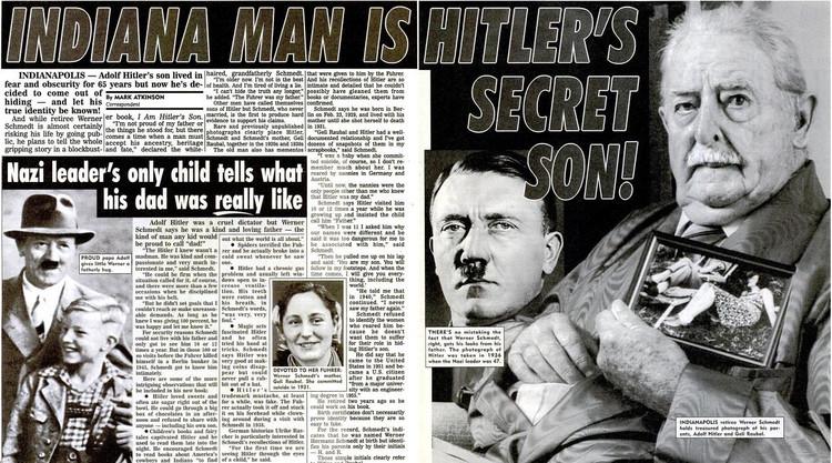 «Сенсационные» материалы из американской прессы о найденном «сыне» Гитлера.