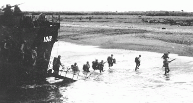 Высадка десанта на Миндоро.