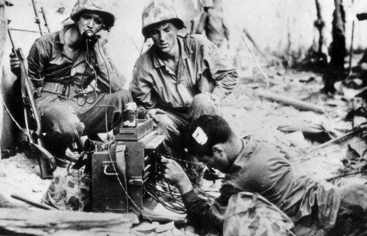 Высадка десанта на остров Намур.