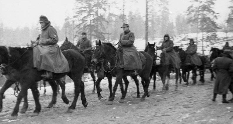 Отступление немецких войск.