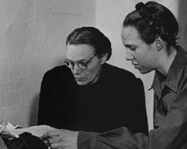 Маргарет и Гудрун Гиммлеры.