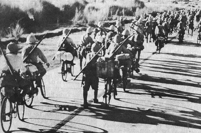 Японские войска на Филиппинах.