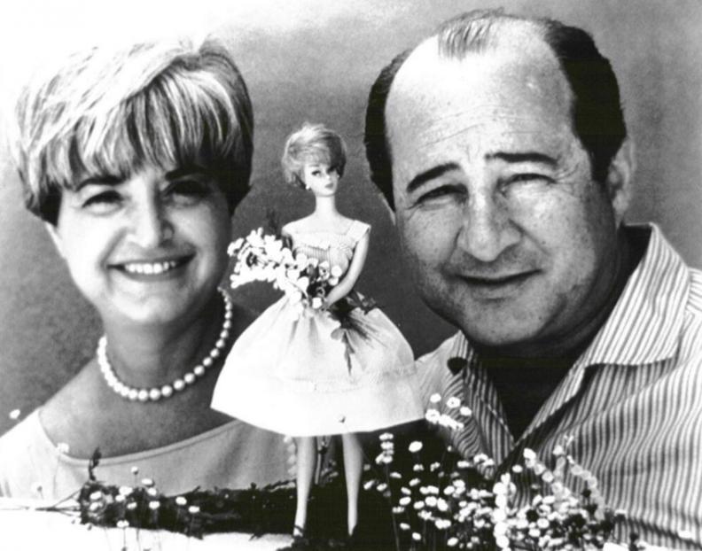 Создатели куклы Барби - Рут и Эллиот Хэндлер.