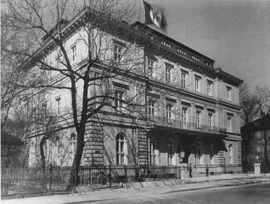 «Коричневый дом» - новый офис NSDAP.