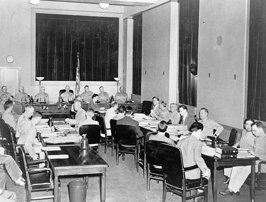 Суд над пленными немцами, июль 1942 г.