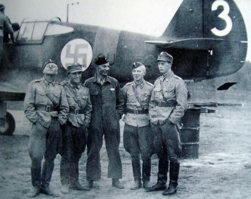 Финские пилоты. 1941 г.