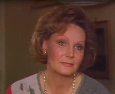 Эдда Геринг в 1986 году во время интервью шведскому телевидению.
