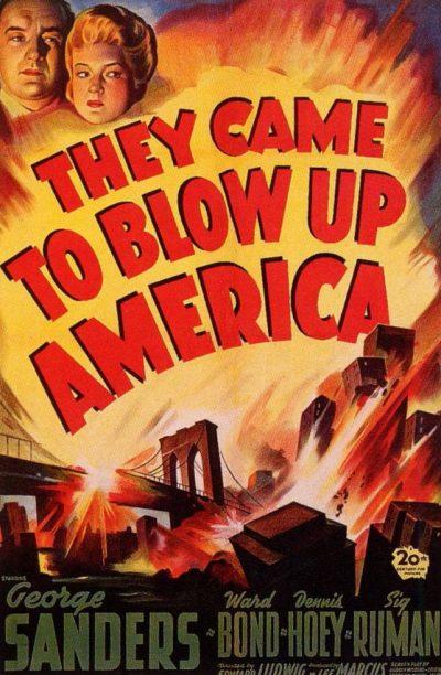 Постер фильма «Они пришли взорвать Америку».