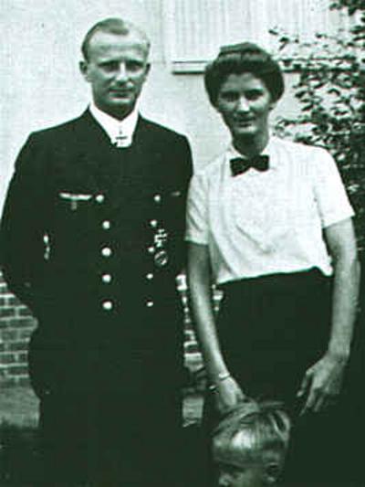 Дочь Деница - Урсула и ее муж Гюнтер Хесслер.