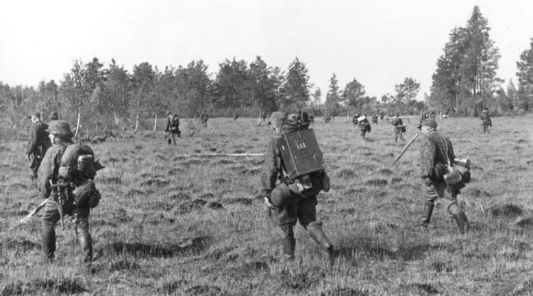 Облава на партизан. Псковская область 1941 г.