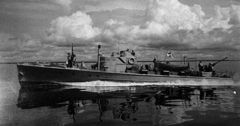 Финский патрульный катер. 1941 г.