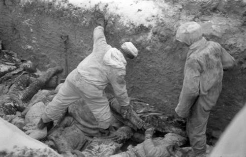 Похороны советских солдат. Февраль 1940 г.