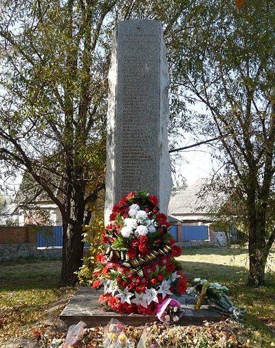г. Полтава. Памятный знак погибшим землякам.