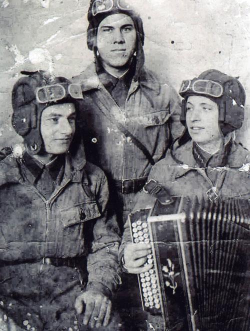 Экипаж танкистов. 1941 г.