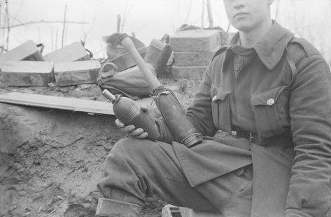 Самодельные гранаты. Уроярви, 28 апреля 1942 г.
